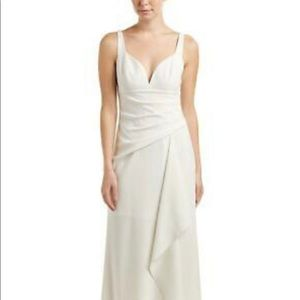 BCBG Off White Ivory Wedding/Event Dress